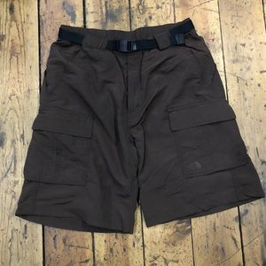 Men's north face hiking cargo shorts. Size 34